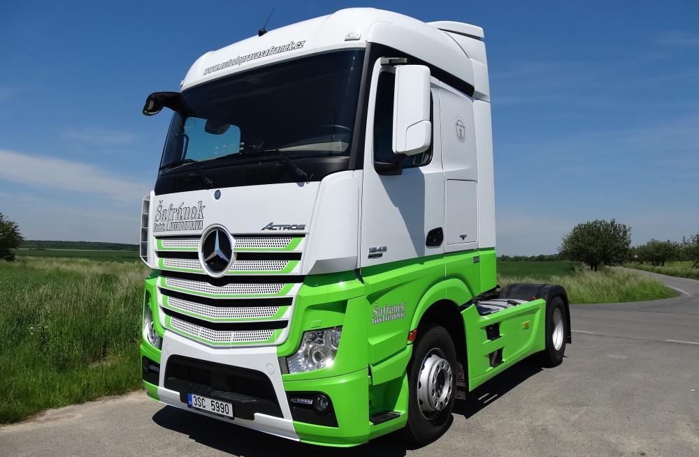 Mercedes Benz Actros Euro 6