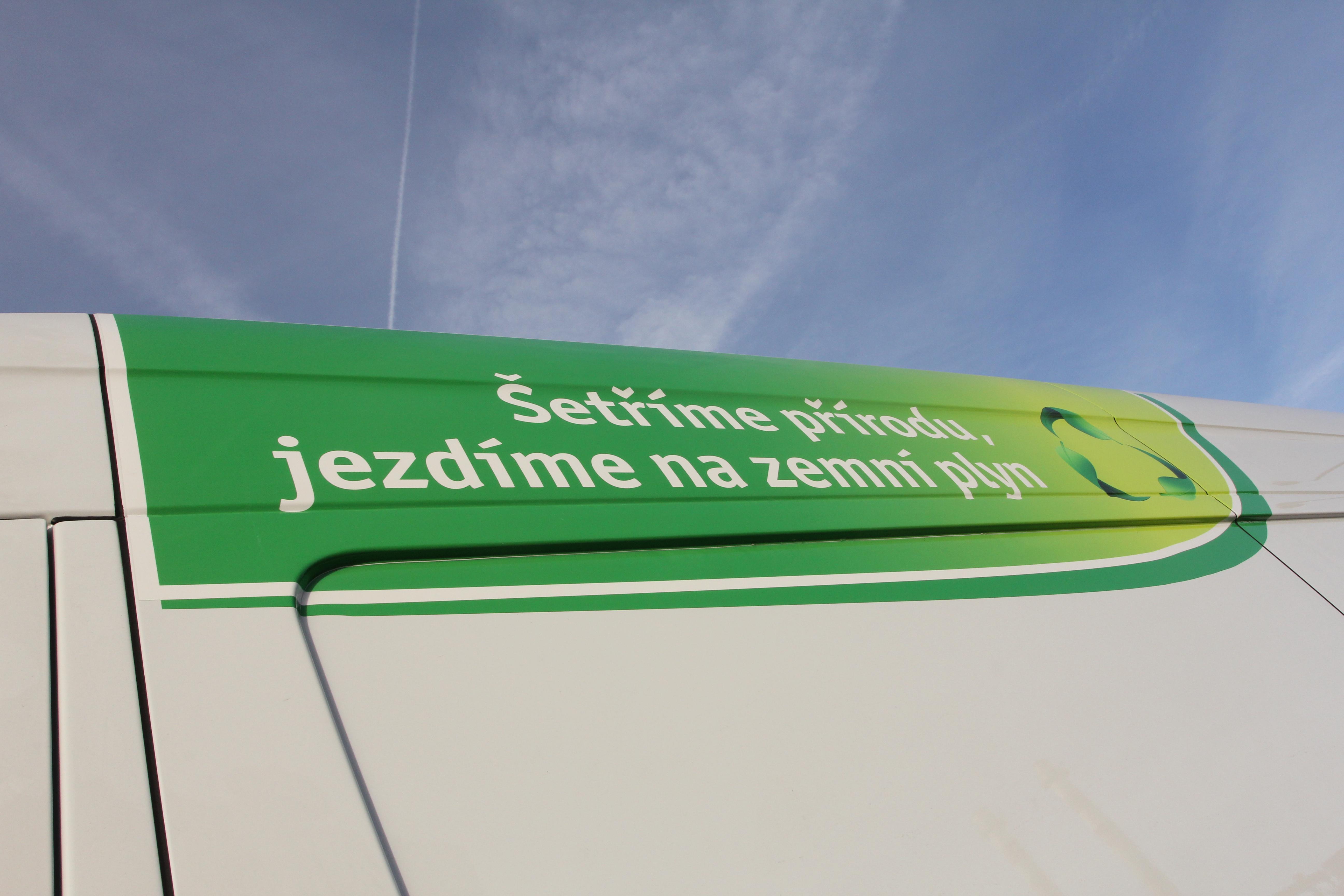 Ekologická doprava – vozidla CNG